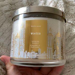 "Bath & Body Works ""Winter"" 3 Wick Candle"